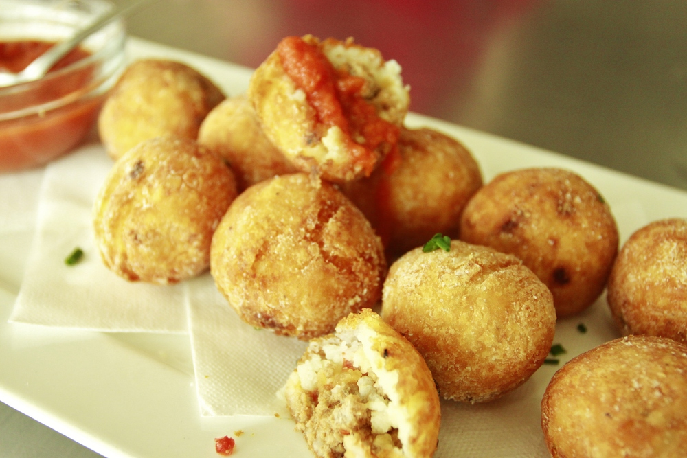 Stuffed Potato Croquettes (Papas Rellenas)