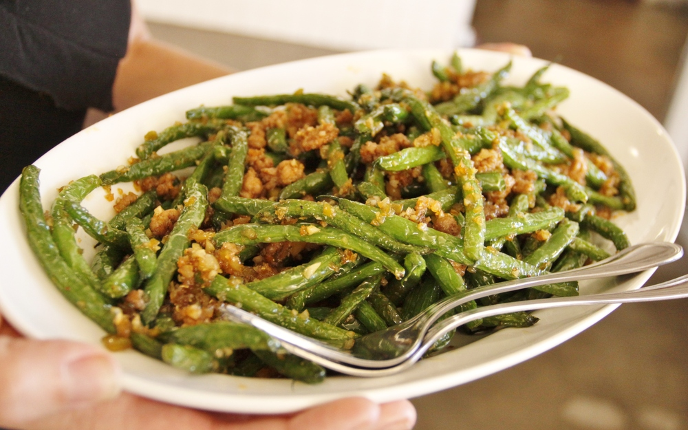 Wok-Fried Green Beans